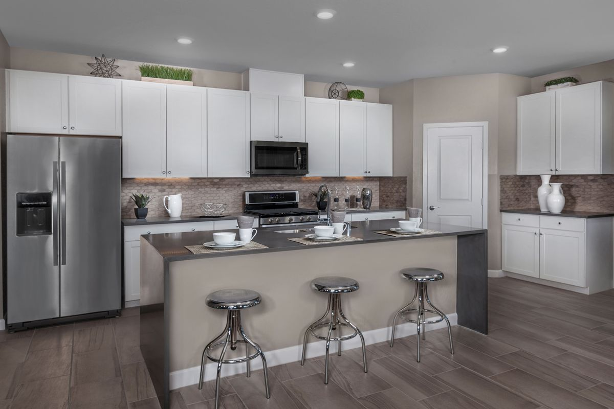 Kitchen-in-Plan 1896 Modeled-at-Caledonia at Summerlin – Collection I-in-Las Vegas