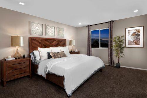 Bedroom-in-Plan 1644 Modeled-at-Aurora Heights-in-North Las Vegas