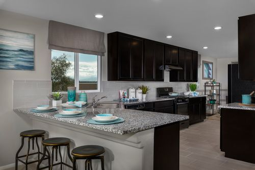 Kitchen-in-Plan 1589 Modeled-at-Reserves at Tanglewood-in-North Las Vegas