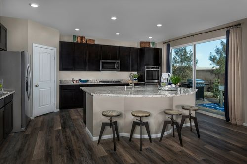 Kitchen-in-Plan 3059 Modeled-at-Reserves at Tanglewood-in-North Las Vegas