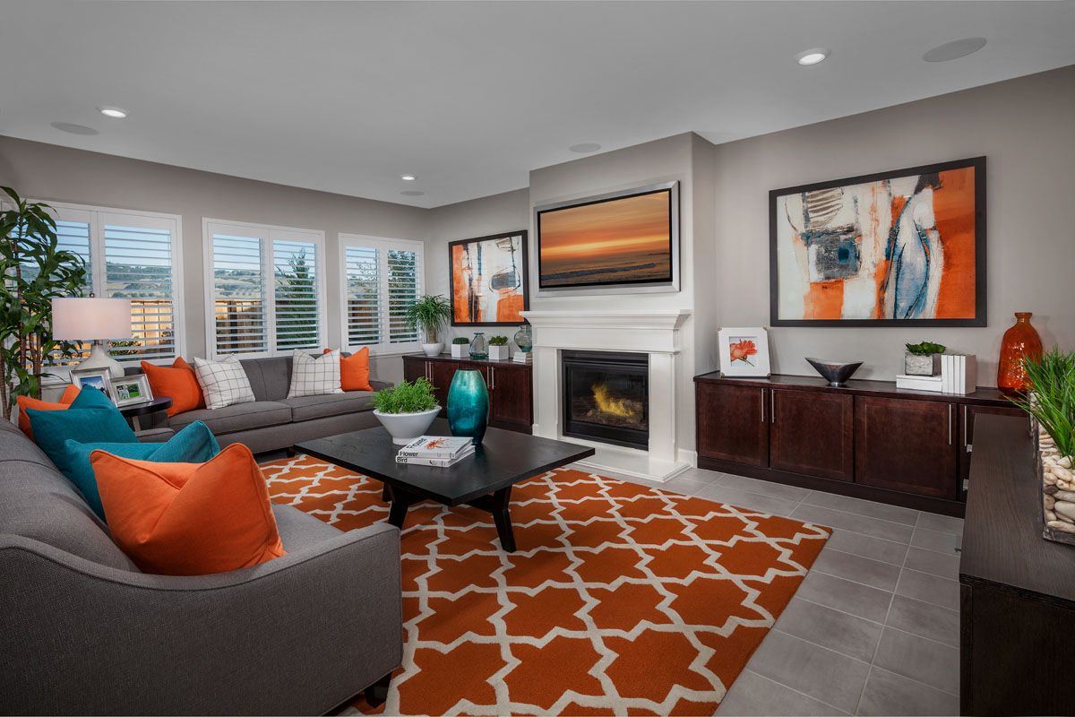Greatroom-in-Plan 3 Modeled-at-Cypress at University District-in-Rohnert Park