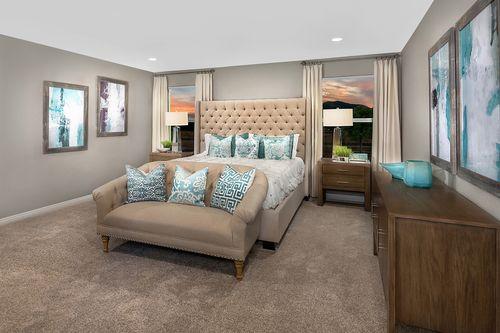 Bedroom-in-Plan 2469 Modeled-at-Cumberland Ranch-in-Las Vegas