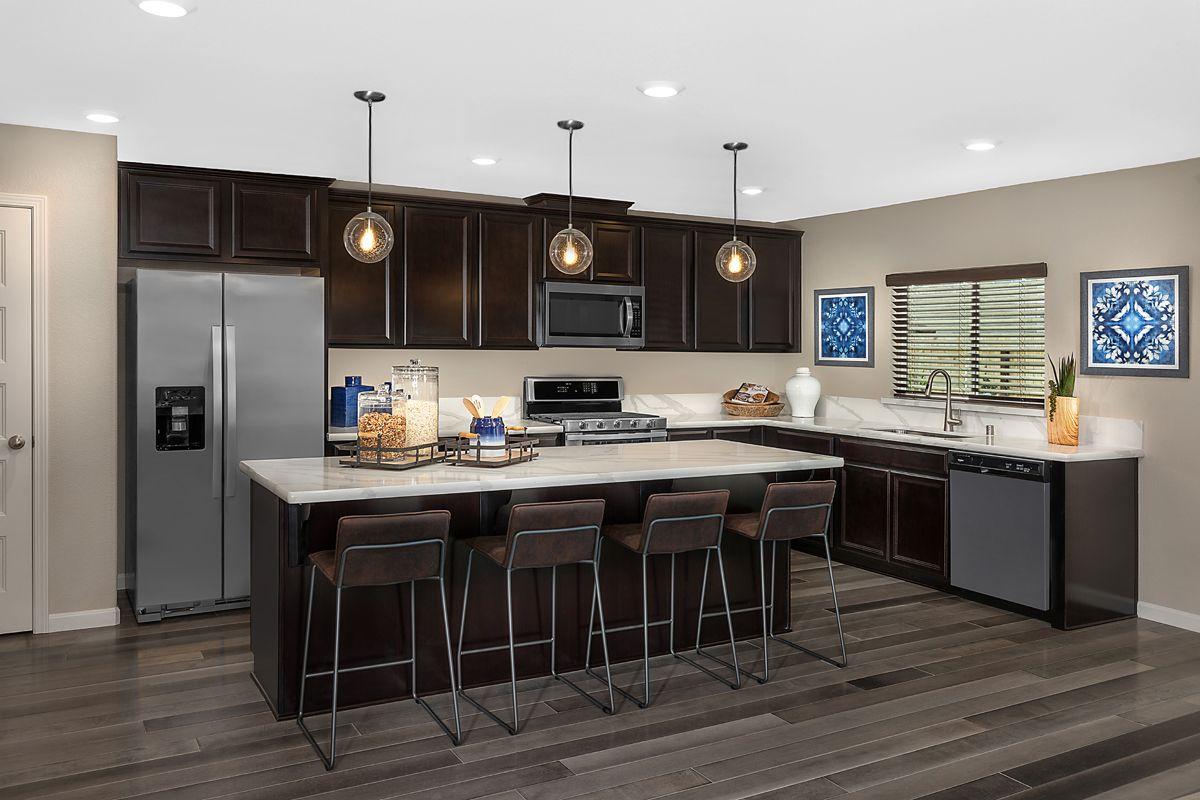 Kitchen-in-Plan 2148 - Modeled-at-Laurel Grove-in-Fresno