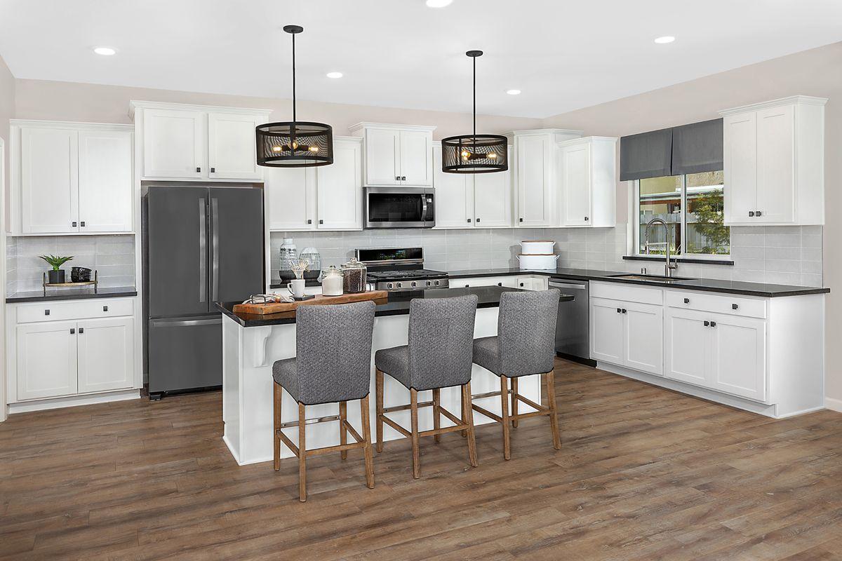 Kitchen-in-Plan 2321 - Modeled-at-Laurel Grove-in-Fresno
