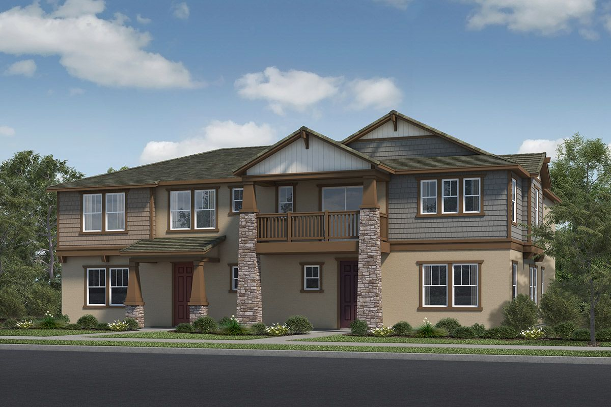 Exterior featured in the Plan 2138 Modeled By KB Home in Ventura, CA