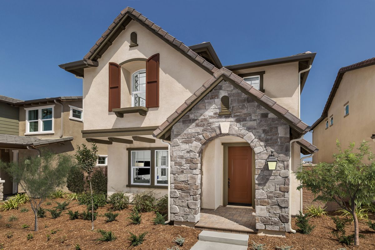 Exterior featured in the Residence 1732 Modeled By KB Home in Riverside-San Bernardino, CA