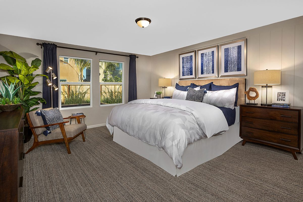 Bedroom featured in the Plan 2148 Modeled By KB Home in Fresno, CA