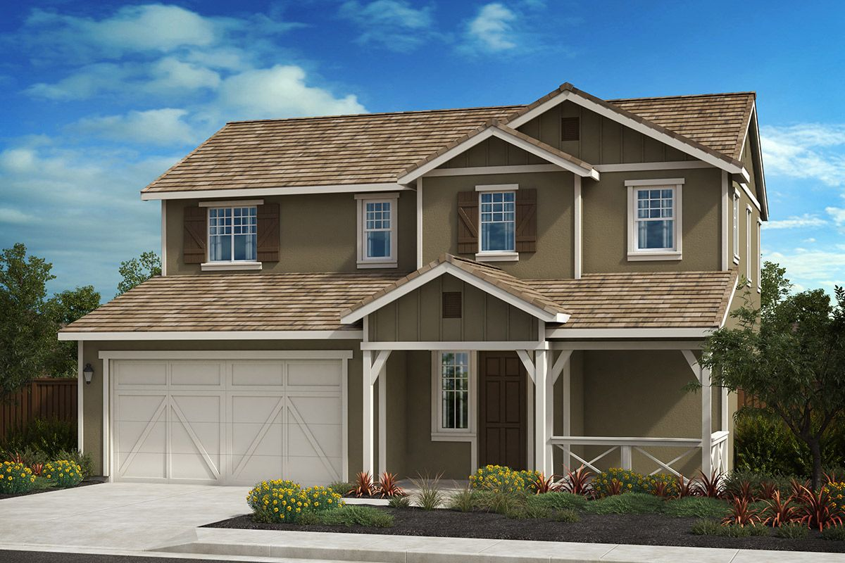 Exterior featured in the Plan 2 Modeled By KB Home in Oakland-Alameda, CA