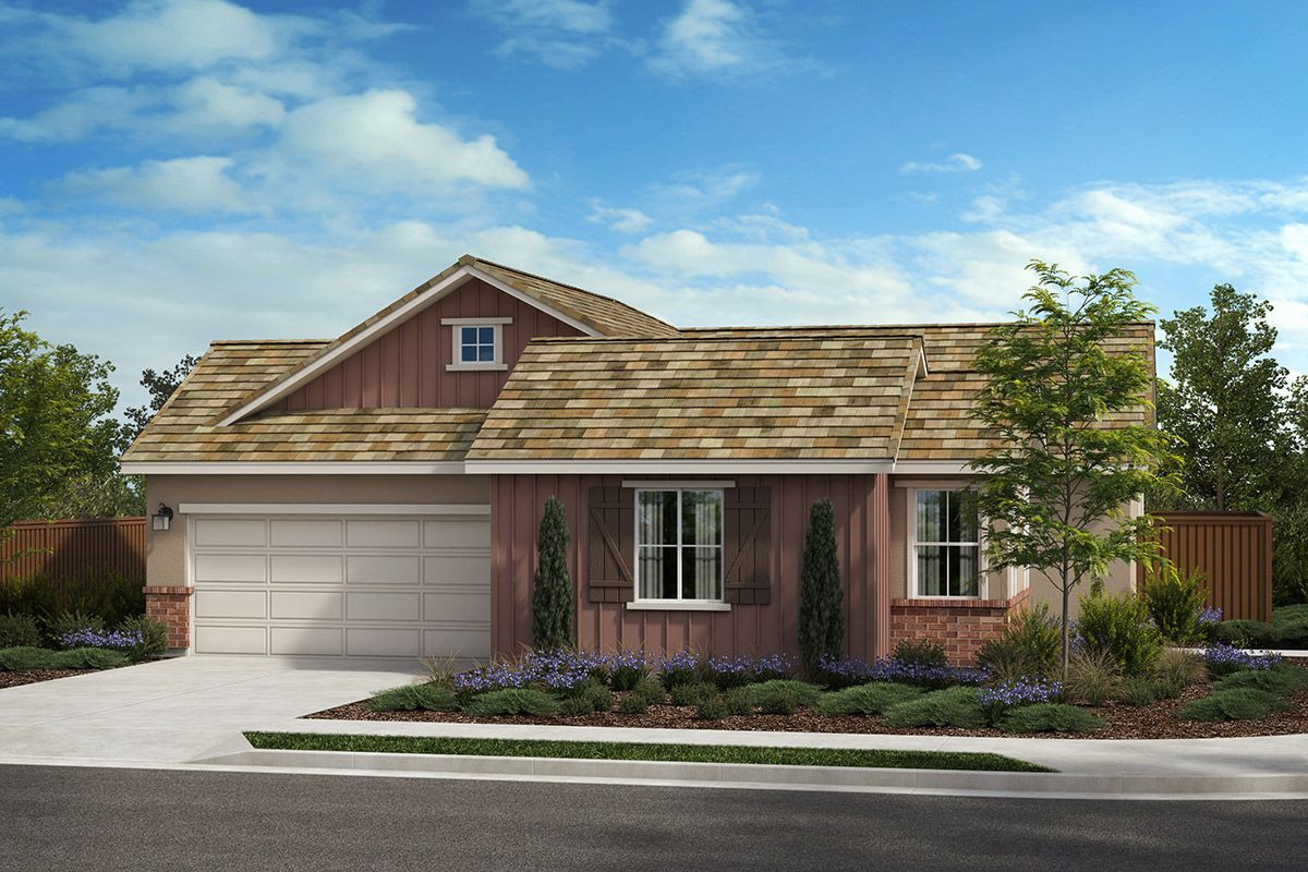 Exterior featured in the Plan 1936 Modeled By KB Home in Santa Rosa, CA