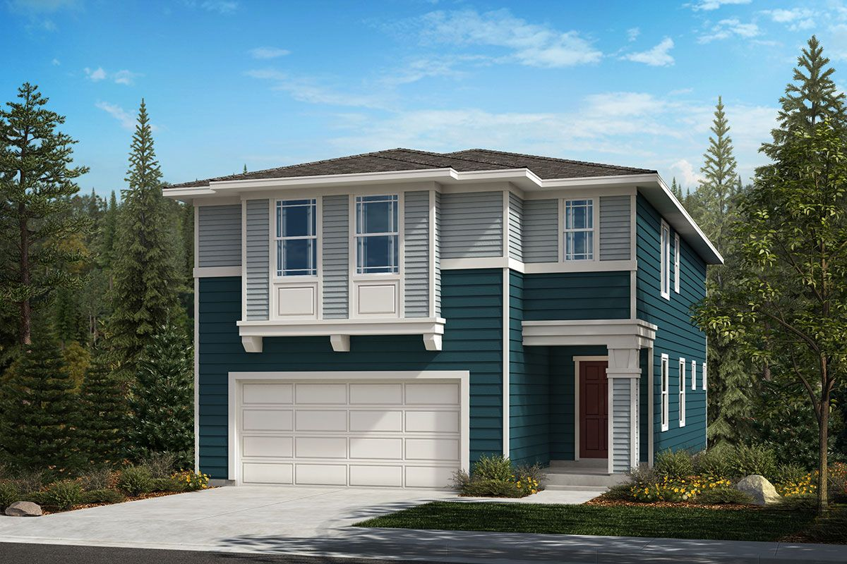 Exterior featured in the Plan 2328 By KB Home in Seattle-Bellevue, WA