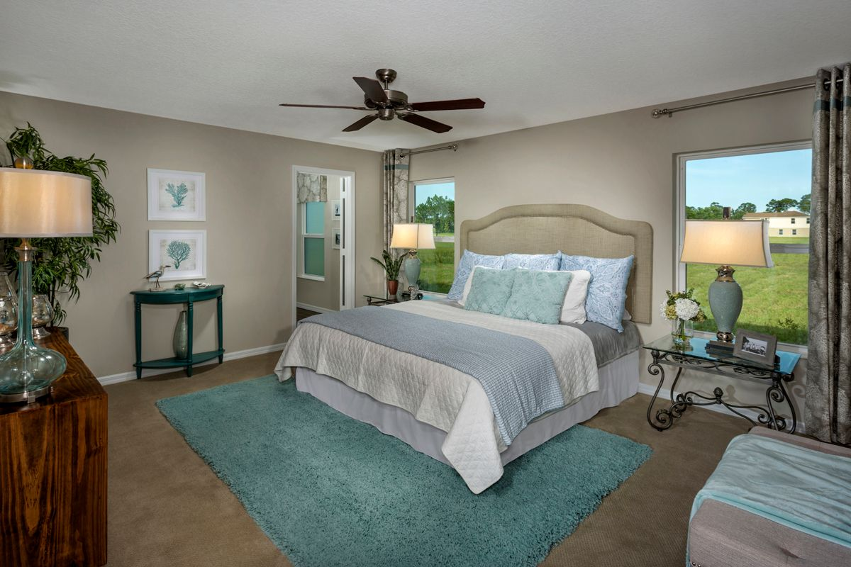 Bedroom featured in the Plan 1717 Modeled By KB Home in Martin-St. Lucie-Okeechobee Counties, FL