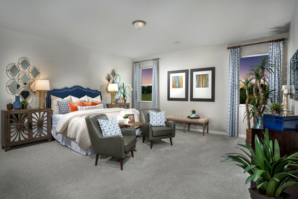 Bedroom featured in the Plan 2168 Modeled By KB Home in Lakeland-Winter Haven, FL