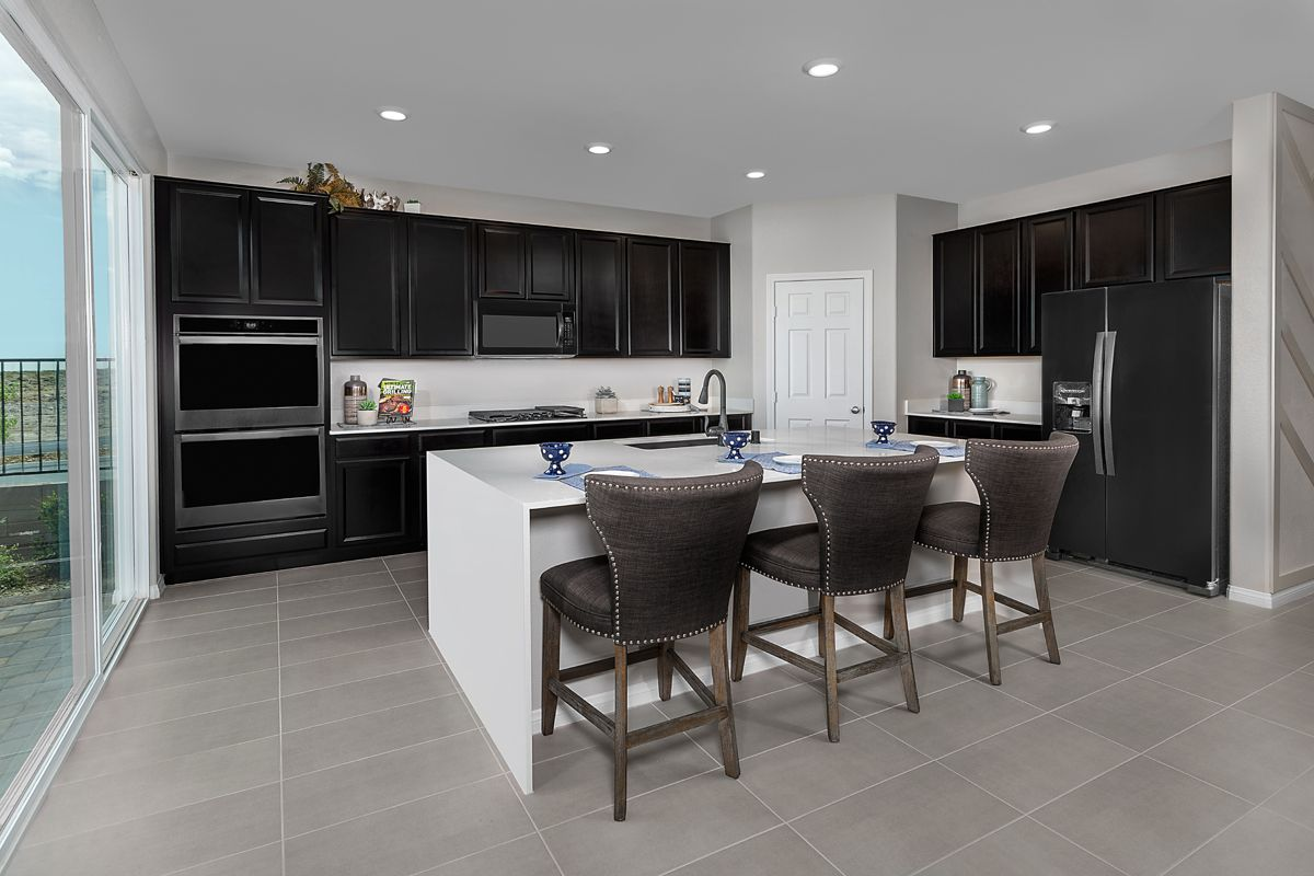 Kitchen featured in the Plan 3066 Modeled By KB Home in Las Vegas, NV