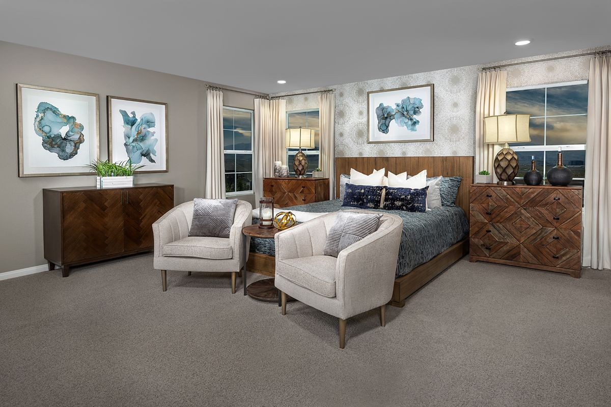 Bedroom featured in the Plan 3066 Modeled By KB Home in Las Vegas, NV