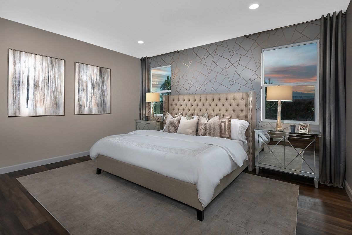 Bedroom featured in the Plan 2993 Modeled By KB Home in Las Vegas, NV
