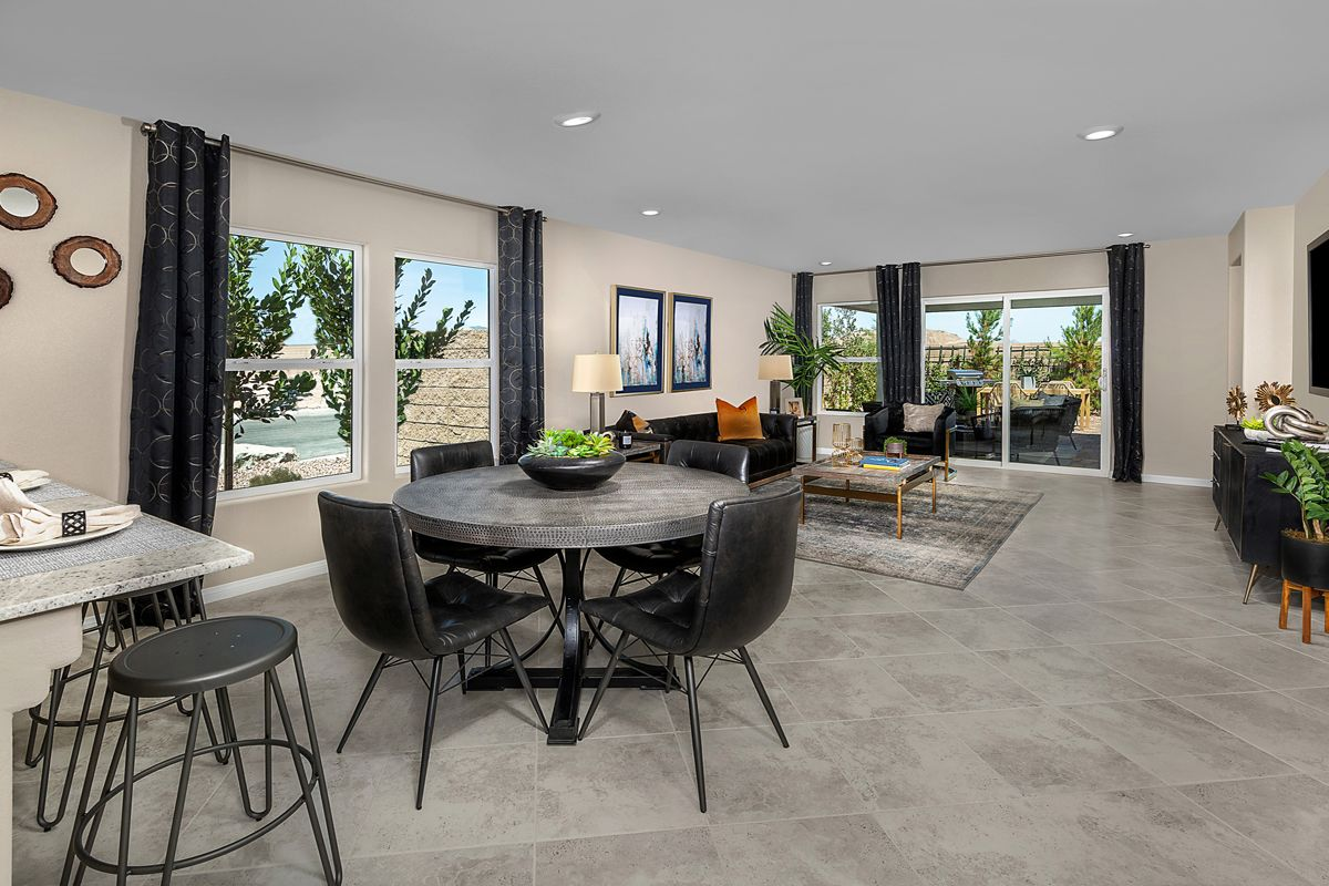 Kitchen featured in the Plan 1589 Modeled By KB Home in Las Vegas, NV