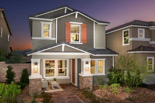 Plan 1674 Modeled - Gardens at Inspirada: Henderson, Nevada - KB Home