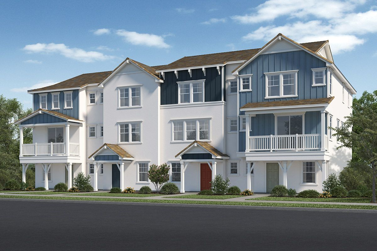 Exterior featured in the Plan 1740 By KB Home in Ventura, CA