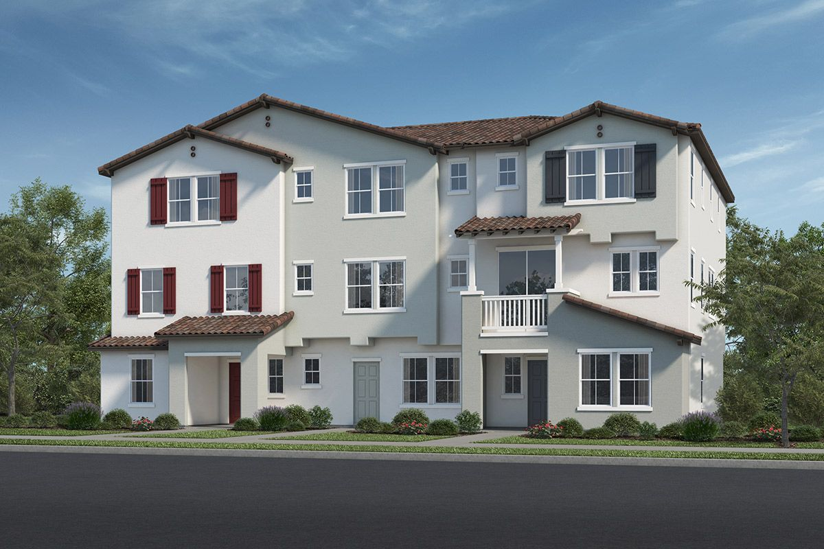 Exterior featured in the Plan 1805 Modeled By KB Home in Ventura, CA