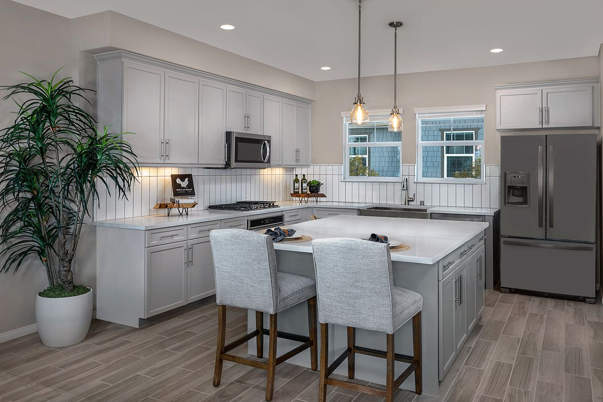 Kitchen featured in the Plan 1740 By KB Home in Ventura, CA