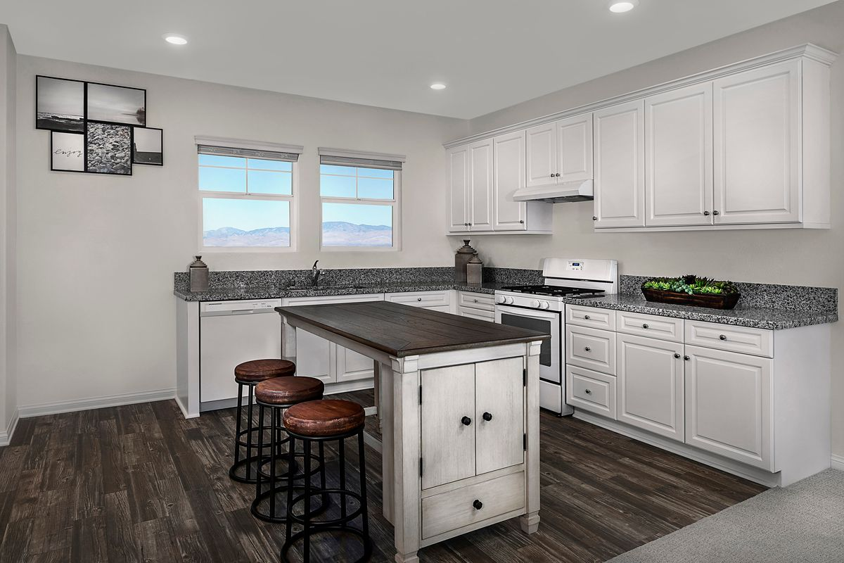Kitchen featured in the Plan 1805 By KB Home in Ventura, CA