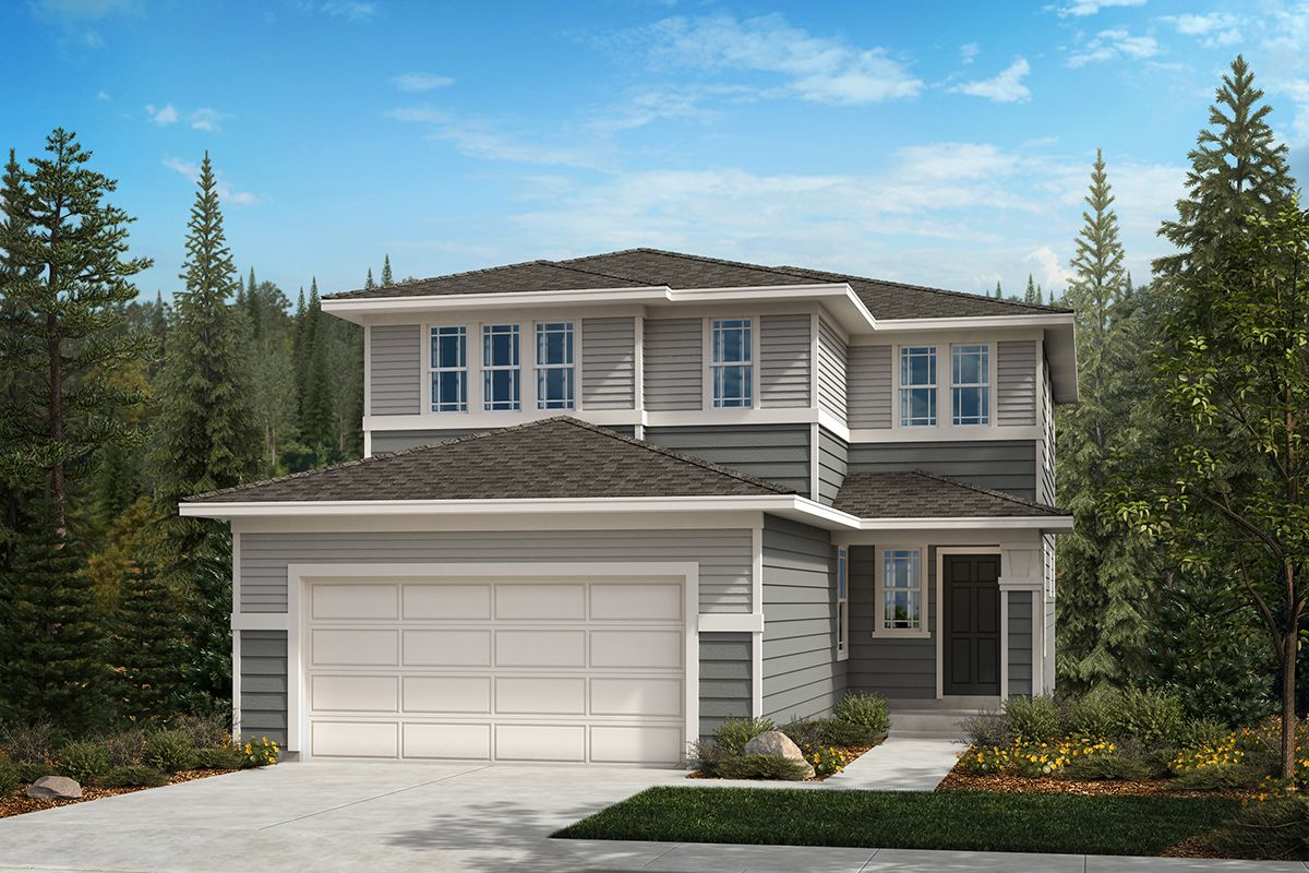 Exterior featured in the Plan 2265 By KB Home in Olympia, WA