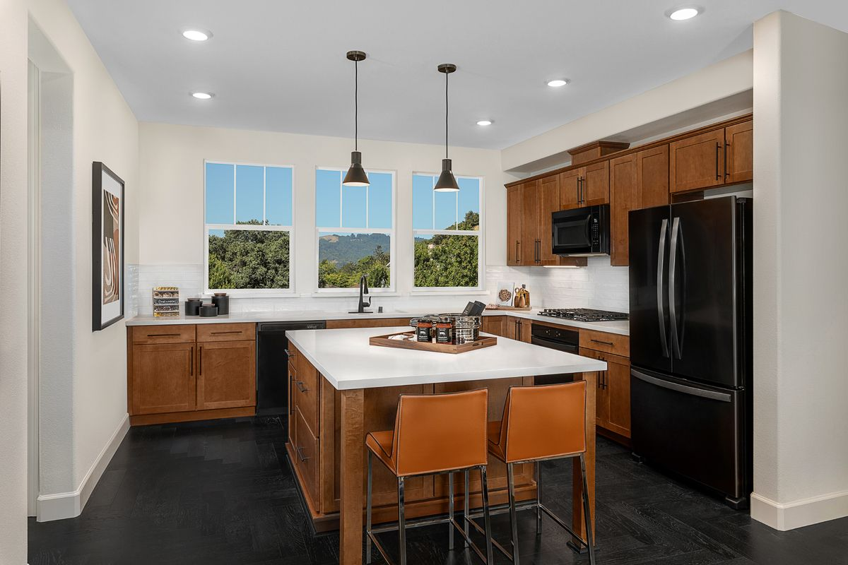 Kitchen featured in the Plan 1731 Modeled By KB Home in San Francisco, CA