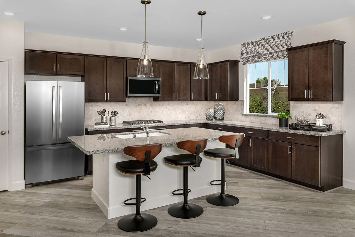 Kitchen featured in the Plan 2012 By KB Home in Oakland-Alameda, CA