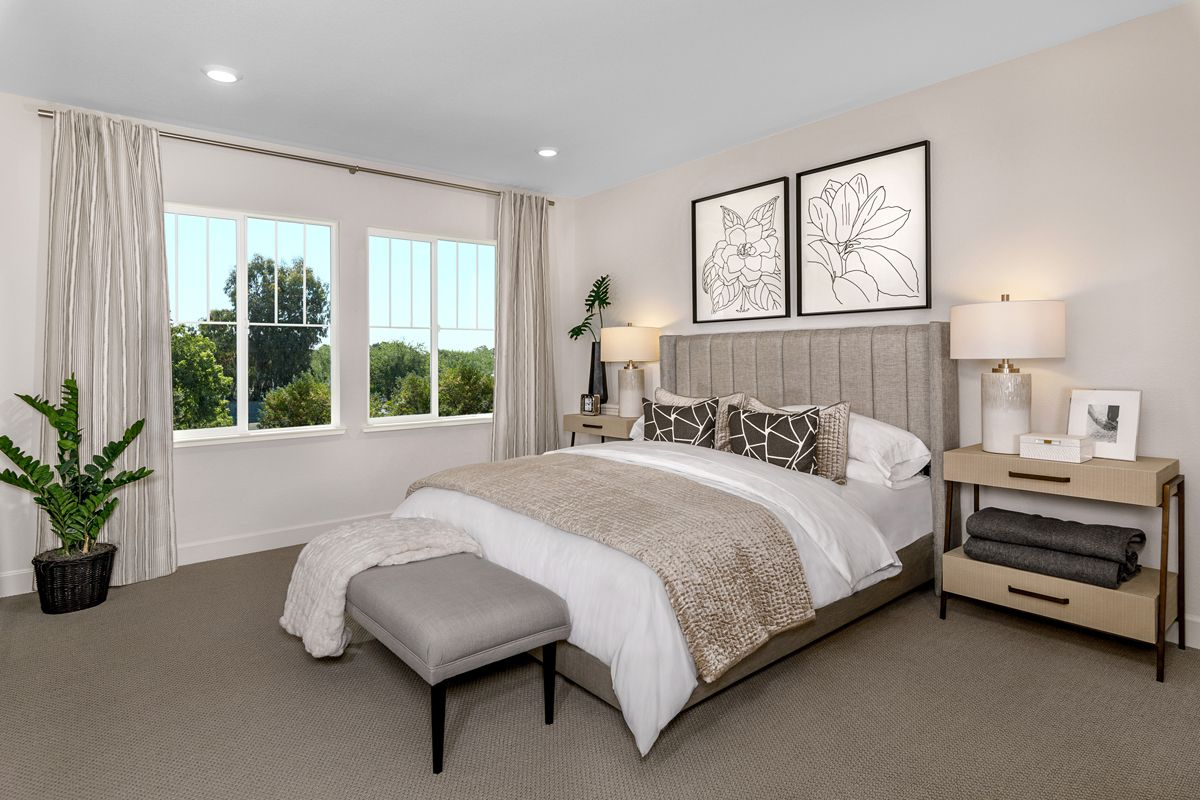 Bedroom featured in the Plan 2012 By KB Home in Oakland-Alameda, CA