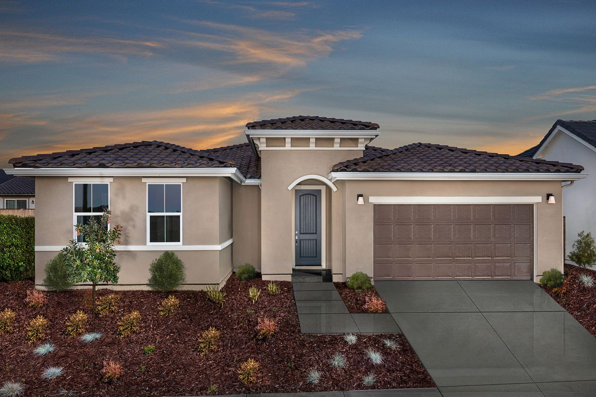 Exterior featured in the Plan 1787 Modeled By KB Home in Santa Rosa, CA