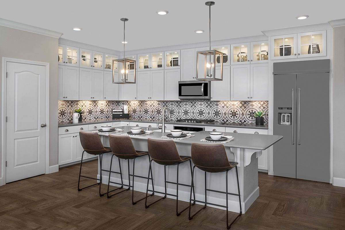 Kitchen featured in the Plan 1936 Modeled By KB Home in Santa Rosa, CA
