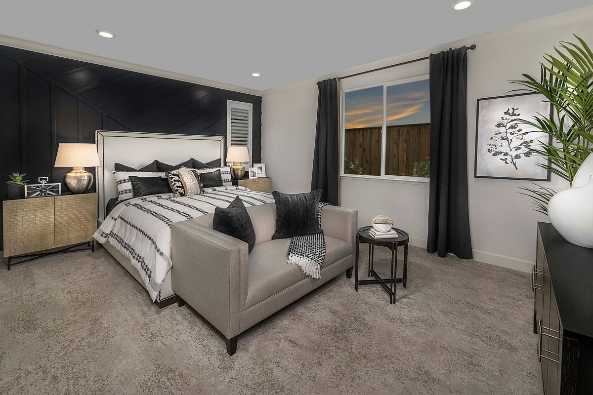 Bedroom featured in the Plan 1936 Modeled By KB Home in Santa Rosa, CA