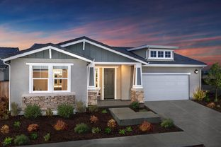 Plan 2004 Modeled - Live Oak at University District: Rohnert Park, California - KB Home