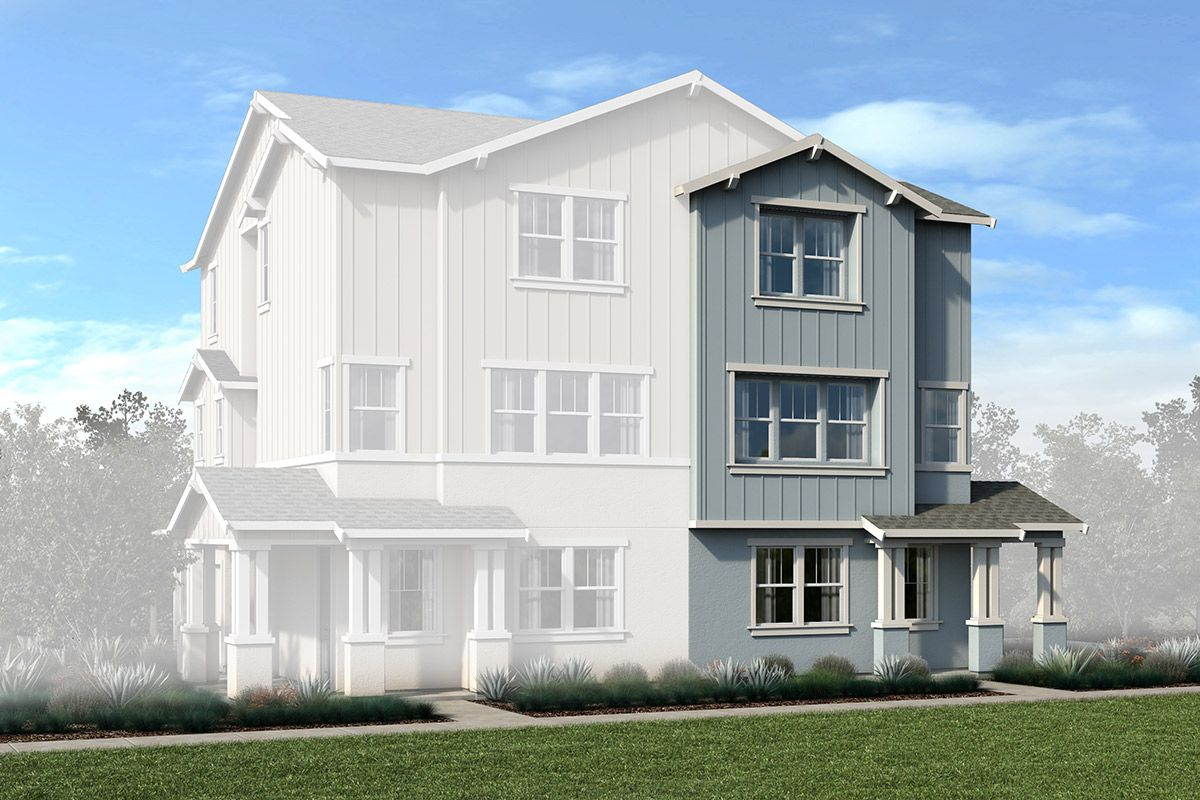 Exterior featured in the Plan 1979 Modeled By KB Home in San Francisco, CA
