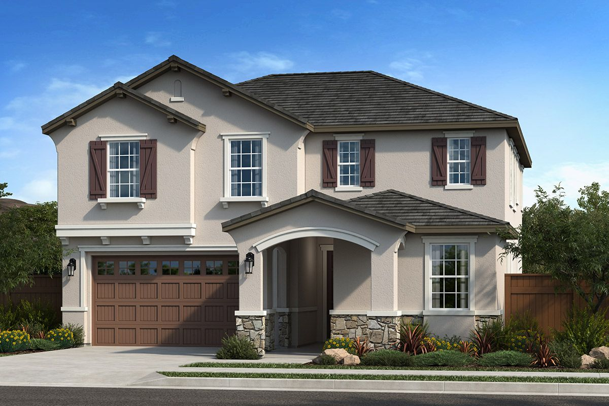 Exterior featured in the Plan 2319 By KB Home in Vallejo-Napa, CA