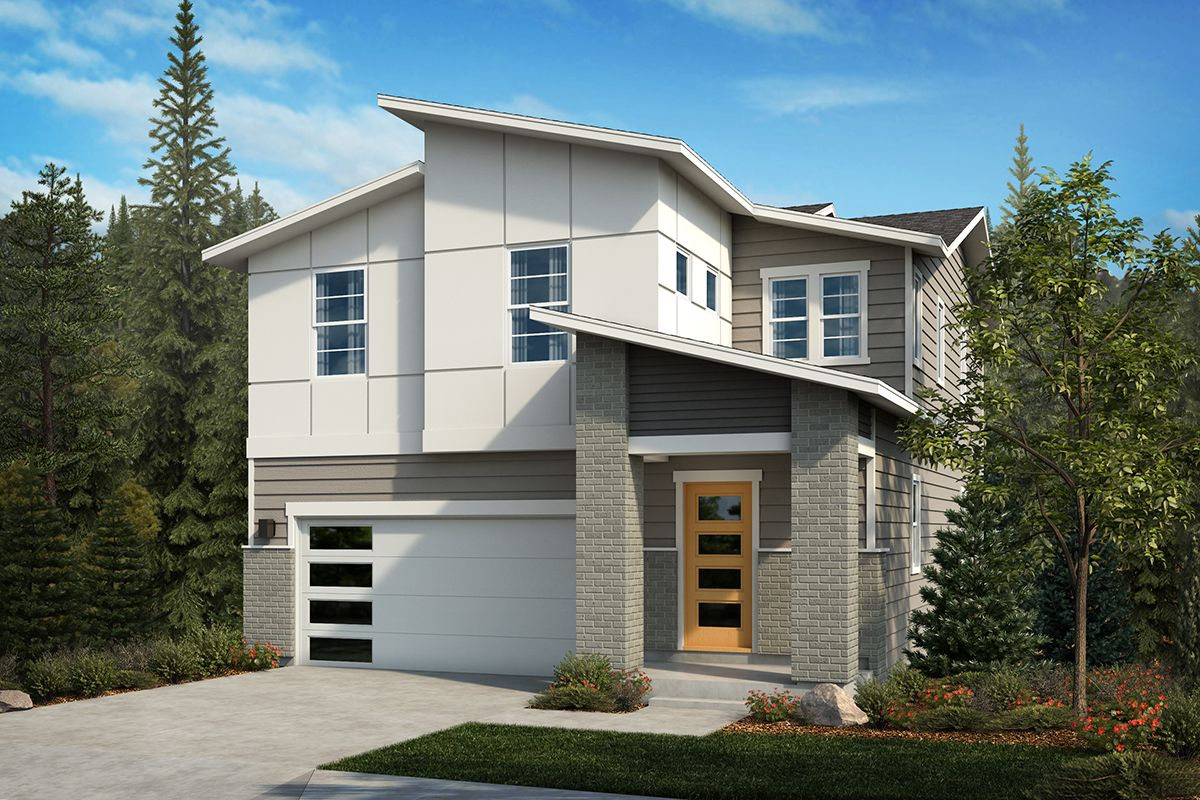 Exterior featured in the Plan 2065 By KB Home in Olympia, WA