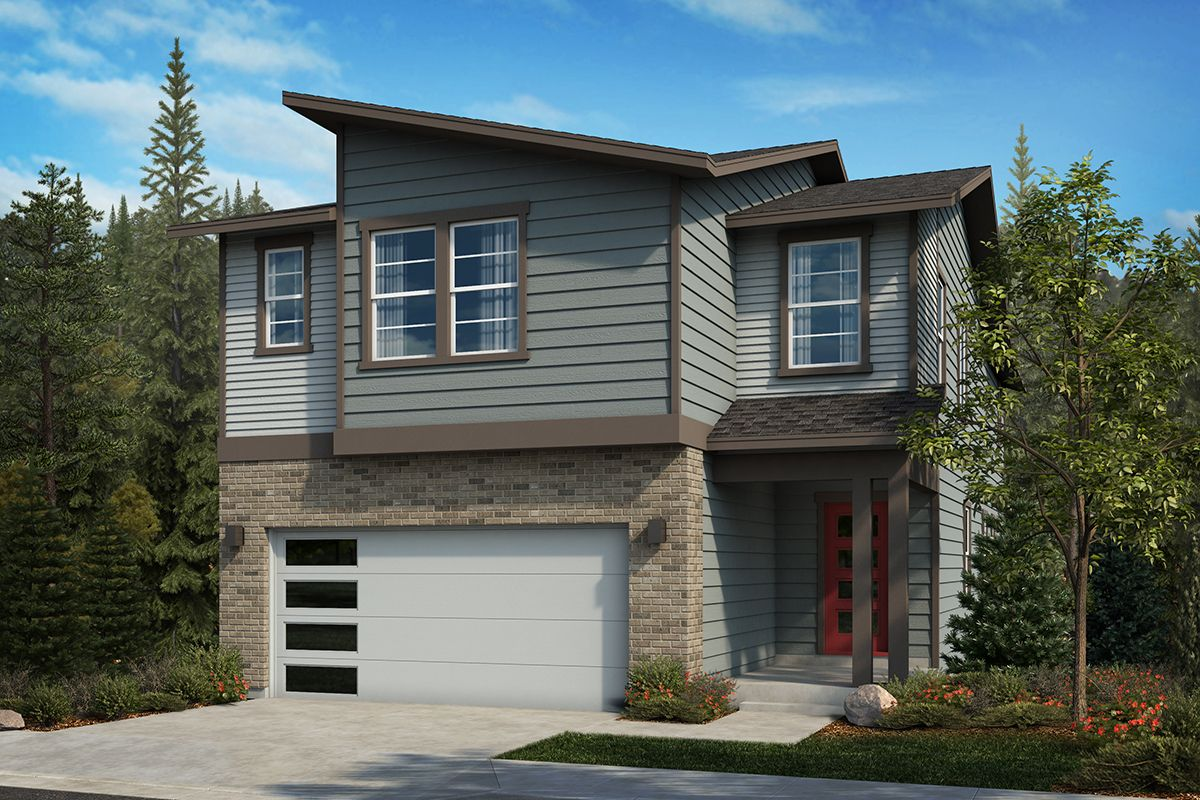 Exterior featured in the Plan 2751 By KB Home in Seattle-Bellevue, WA