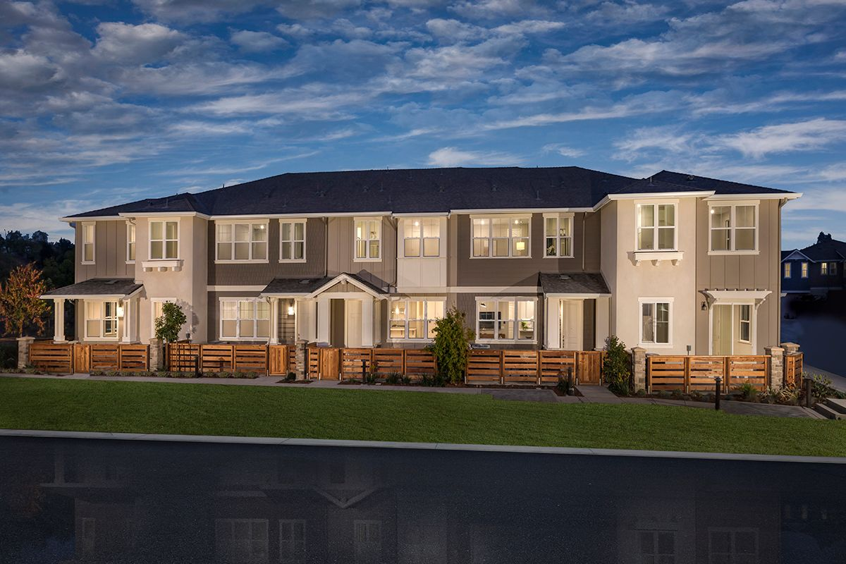 Exterior featured in the Plan 1 Modeled By KB Home in Oakland-Alameda, CA