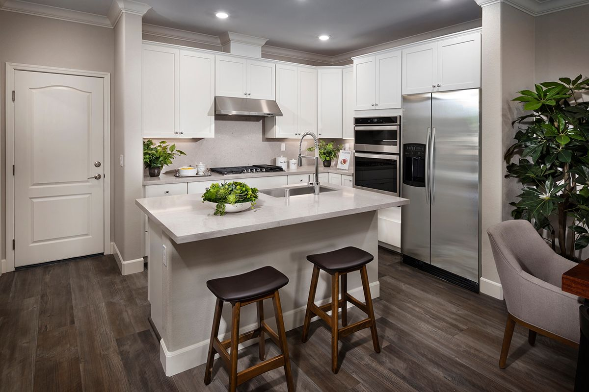 Kitchen featured in the Plan 1 Modeled By KB Home in Oakland-Alameda, CA