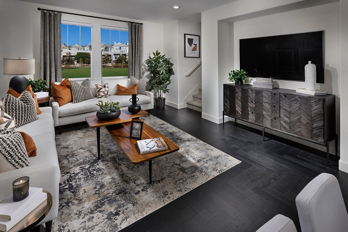 Living Area featured in the Plan 1731 Modeled By KB Home in San Francisco, CA