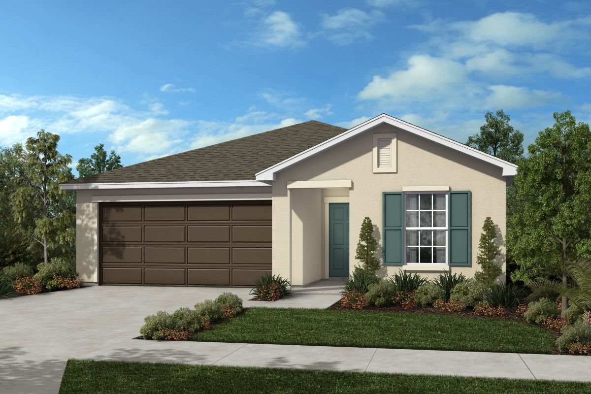 Exterior featured in the Plan 1585 By KB Home in Martin-St. Lucie-Okeechobee Counties, FL