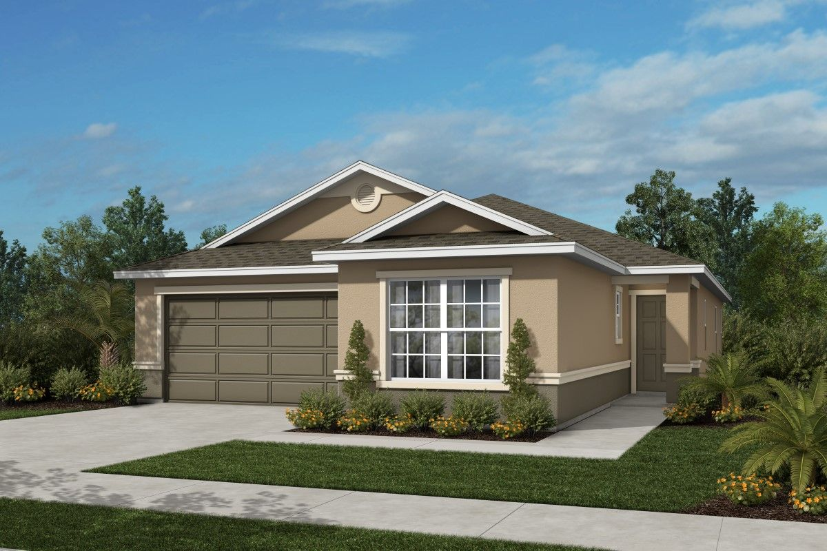 Exterior featured in the Plan 1878 By KB Home in Martin-St. Lucie-Okeechobee Counties, FL