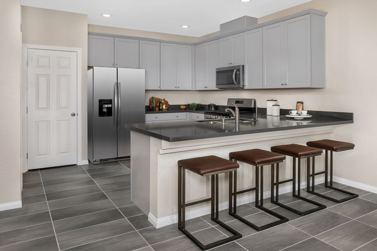Kitchen featured in the Plan 1448 Interior Unit Modeled By KB Home in Las Vegas, NV
