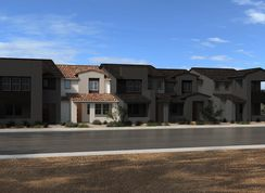Plan 1598 End Unit - Ascent at Summerlin: Las Vegas, Nevada - KB Home