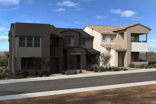 Plan 1748 End Unit Modeled - Ascent at Summerlin: Las Vegas, Nevada - KB Home