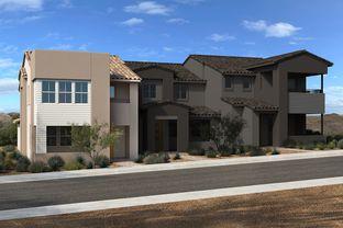 Plan 1860 End Unit Modeled - Ascent at Summerlin: Las Vegas, Nevada - KB Home
