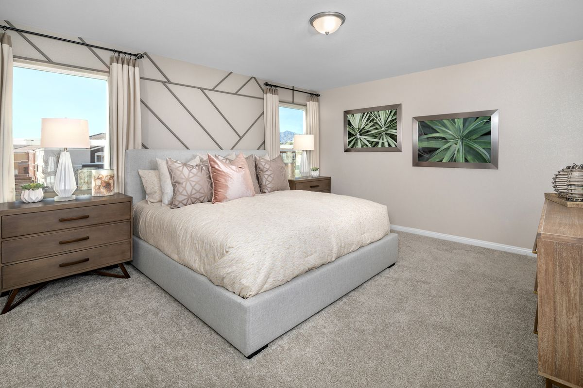 Bedroom featured in the Plan 1455 Modeled By KB Home in Las Vegas, NV