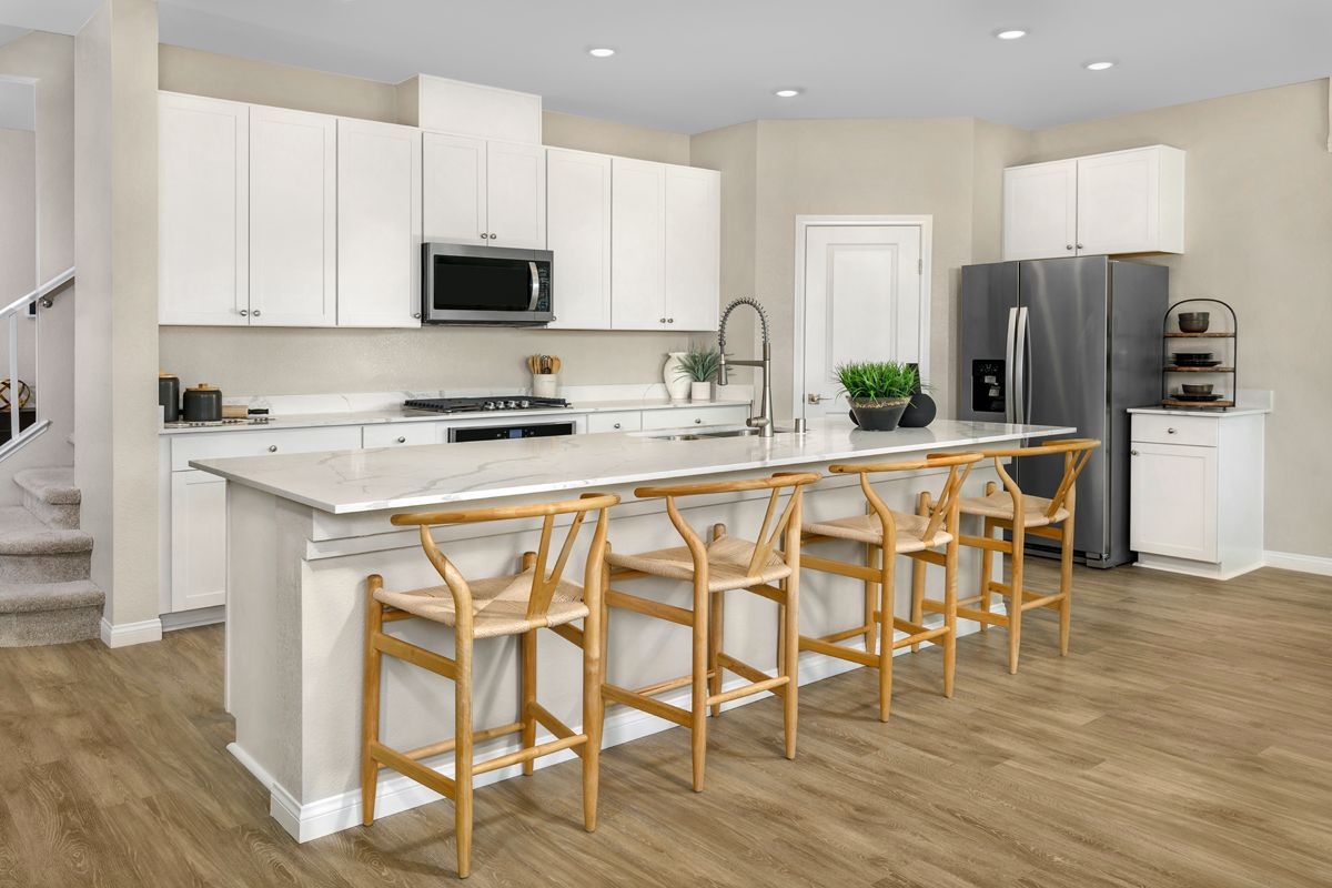 Kitchen featured in the Plan 2469 Modeled By KB Home in Las Vegas, NV