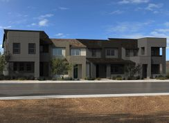 Plan 1448 Interior Unit Modeled - Ascent at Summerlin: Las Vegas, Nevada - KB Home