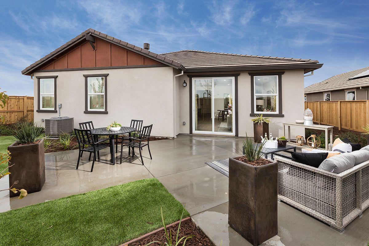 Exterior featured in the Plan 1934 Modeled By KB Home in Vallejo-Napa, CA